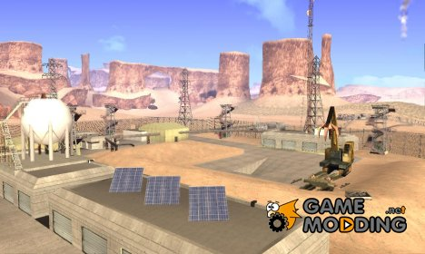 Новая военная база для GTA San Andreas
