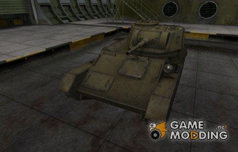 Шкурка для Т-80 в расскраске 4БО для World of Tanks