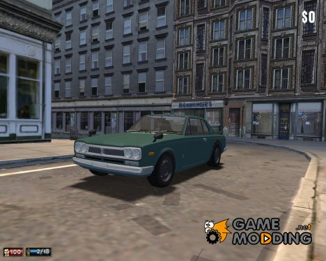 Nissan Skyline 2000 GT-R для Mafia: The City of Lost Heaven