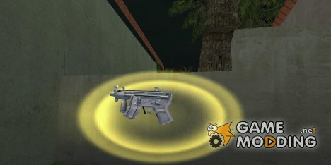 Mp5 Short для GTA Vice City