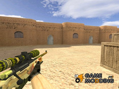 AWP История о драконе for Counter-Strike 1.6