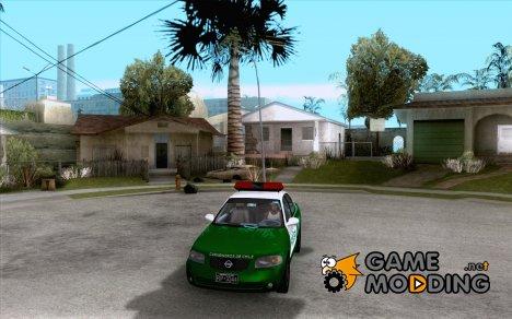 Nissan Sentra Carabineros De Chile для GTA San Andreas
