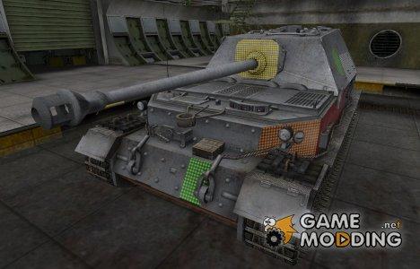 Зона пробития Ferdinand for World of Tanks