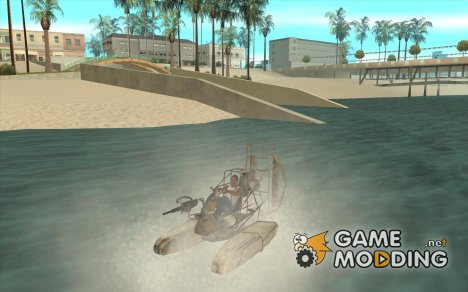 HL2 Airboat for GTA San Andreas