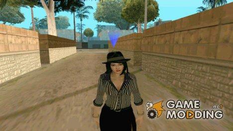 Красивая девушка v3 для GTA San Andreas