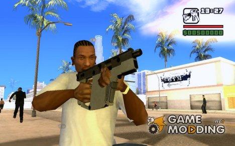 Kriss XSMG for GTA San Andreas