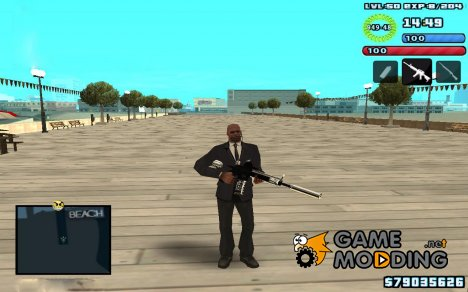 C-HUD by SampHack v.10 для GTA San Andreas