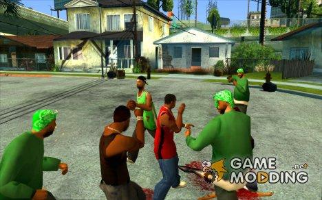 Нельзя бить женщин 2.0 для GTA San Andreas