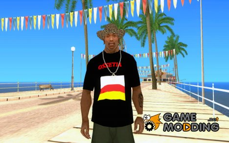 Футболка Осетия для GTA San Andreas