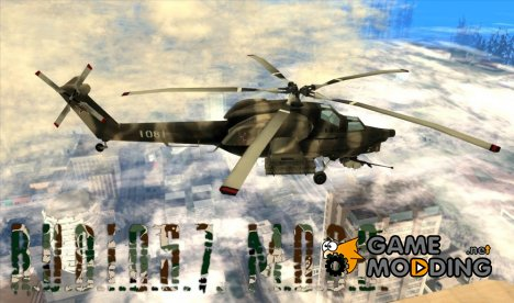 MIL MI 28 HAVOC for GTA San Andreas