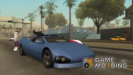 GTA 3 Infernus SA style V2 для GTA San Andreas
