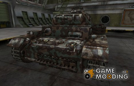 Горный камуфляж для PzKpfw III для World of Tanks