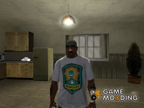 "Футболка с логотипом группировки ""Монолит"" for GTA San Andreas"
