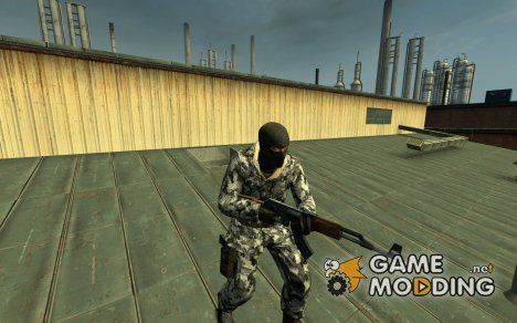 Players Dark Arctic Camo for Counter-Strike Source