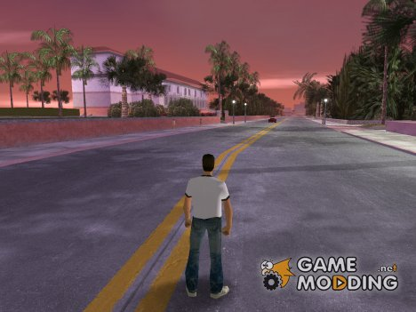 Vice City HD Road for GTA Vice City