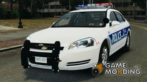 Chevrolet Impala 2012 Liberty City Police Department for GTA 4