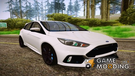Ford Focus RS 2017 для GTA San Andreas