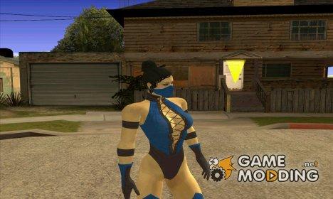 Kitana from mortal kombat для GTA San Andreas
