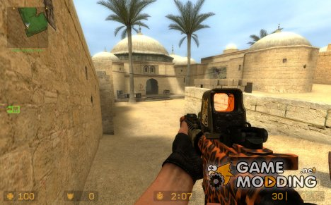 Leopard Camo Aug for Counter-Strike Source