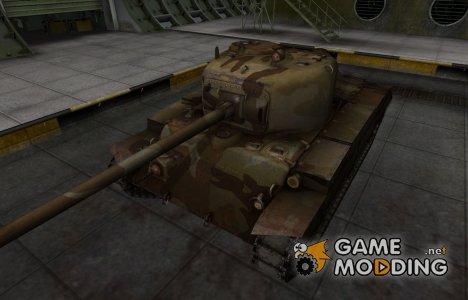 Шкурка для американского танка T20 for World of Tanks