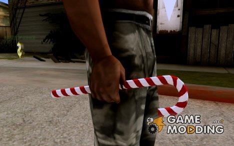 Новогодний леденец из WarFace for GTA San Andreas