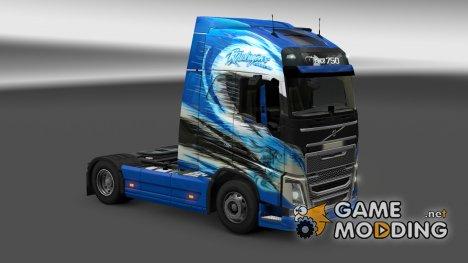"Скин ""RThurhagens"" Volvo FH 2012 for Euro Truck Simulator 2"