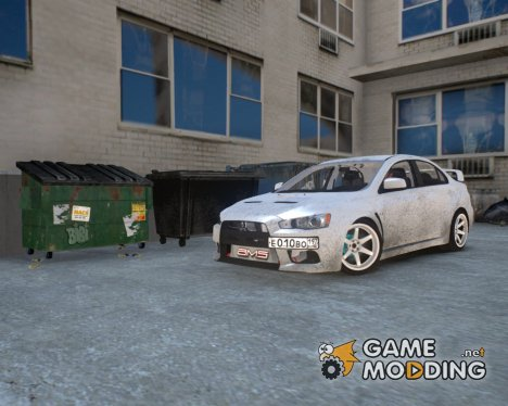 Mitsubishi Lancer Evolution X v1.0 for GTA 4