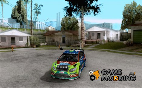 Ford Focus RS WRC 2010 для GTA San Andreas