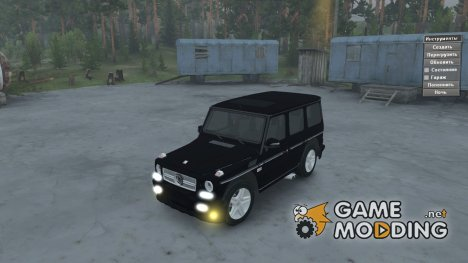 Mercedes-Benz G65 AMG for Spintires 2014