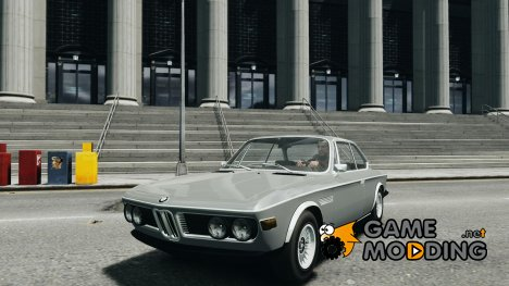 BMW 3.0 CSL E9 1971 for GTA 4