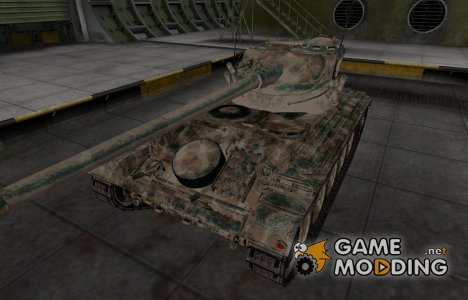 Французкий скин для AMX 13 90 для World of Tanks