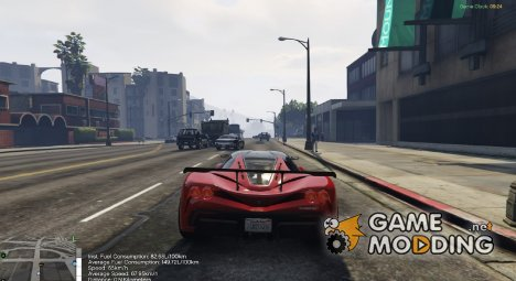 Advanced Fuel Mod 1.3 for GTA 5