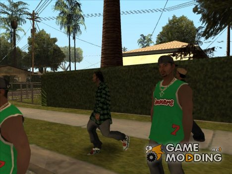 Mega Skins pack v.2 for GTA San Andreas