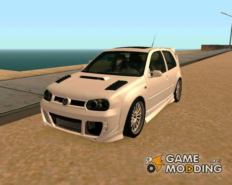 Volkswagen Golf R32 для GTA San Andreas