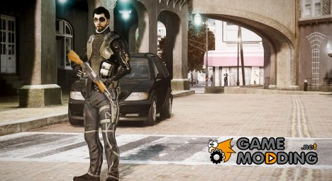 Adam Jensen for GTA 4