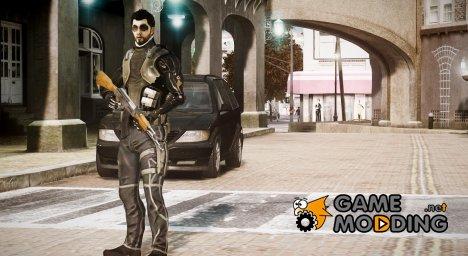 Adam Jensen для GTA 4