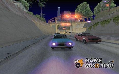 Сиреневый для GTA San Andreas