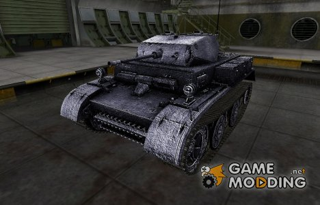 Темный скин для PzKpfw II Luchs для World of Tanks