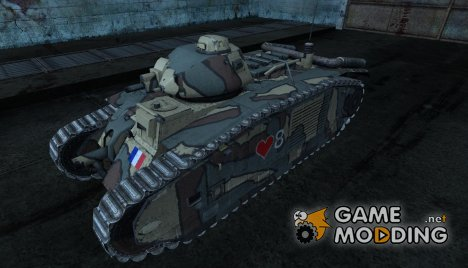 Шкурка для B1 for World of Tanks