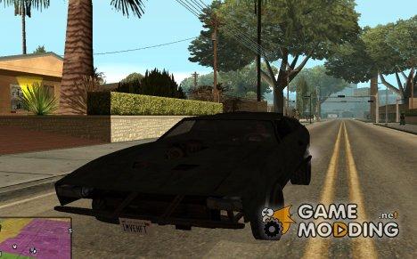 Перехватчик из Mad Max 2 в стиле Gta San Andreas для GTA San Andreas