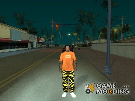 Тигровые штаны for GTA San Andreas