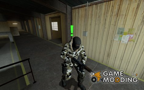 US Urban Arctic для Counter-Strike Source