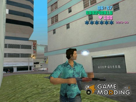 AK 47 для GTA Vice City