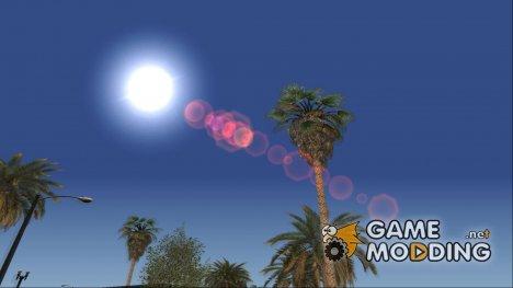 Lensflare GTA III для GTA San Andreas