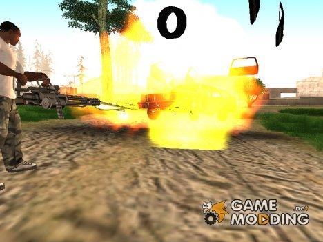 Бонус за уничтожение автомобилей как в GTA 3 для GTA San Andreas