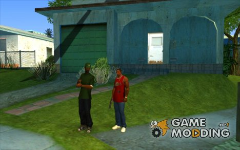 Возможность позвать Свита for GTA San Andreas