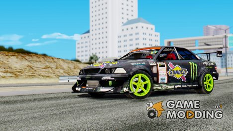 Toyota Mark II D1GP Sunoco Monster для GTA San Andreas