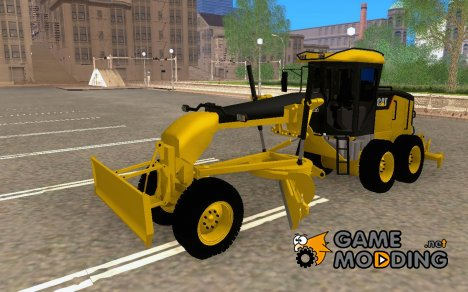 Caterpillar 140AWD Motorgrader for GTA San Andreas