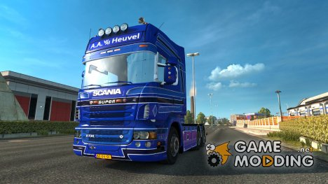 Scania R730 A.A.V.D.Heuvel for Euro Truck Simulator 2