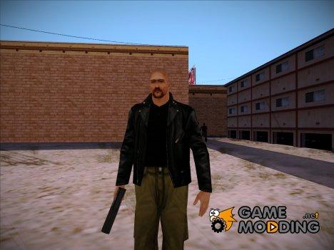 Claude Band Skin V1 для GTA San Andreas